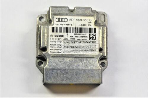 Airbag Dispositif de commande 8p0959655s//8p0 959 655 S crash accident Supprimer