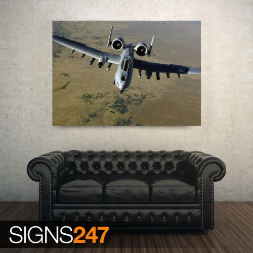 photo poster print art A0 A1 A2 A3 A4 A 10 thunderbolt ii air 4145