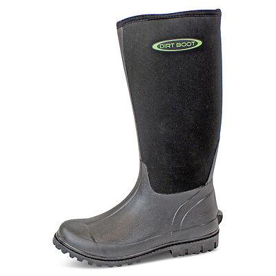 Bellissimo Dirt Boot ® Neoprene Wellington Muck Boot Da Donna Uomo Unisex Nero- Vincere Elogi Calorosi Dai Clienti