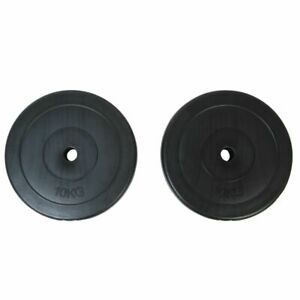 vidaXL-Weight-Plates-2x10kg-Home-Gym-Fitness-Training-Dumbbell-Barbell-Disc