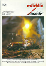 Märklin Insider # 1 1996 train réseau ferré HO Modélisme Autorail Rail C Re 460