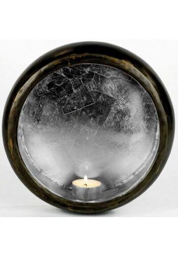 Lambert Jandra wandblaker wandteelichthalter Noir//Argent Fer 24 x 6,5 cm