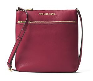 c9a290a8d6 Image is loading Michael-Michael-Kors-Riley-Fat-Mulberry-Crossbody-Bag
