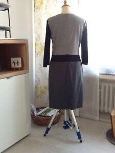 Grau Getragen Wolle Von Schwarz 1 Kleid 36 Mal Joop Gr qgXcRzwTO