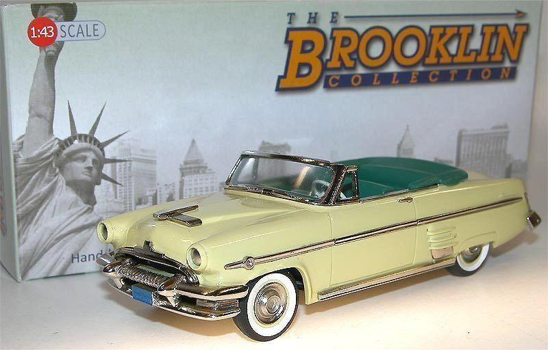 artículos de promoción Brooklin models models models BRK 162a 1954 Mercury Monterey converdeible Yosemite amarillo 1 43  grandes precios de descuento