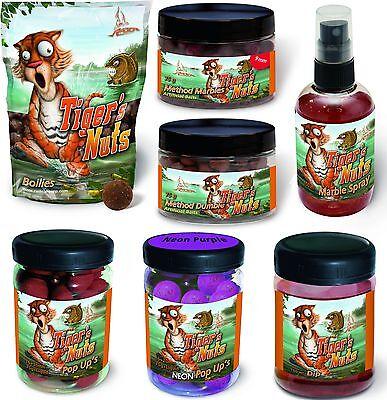 Quantum Boilies Boilie Tiger's Nuts, Dip, Pop Up, Spray, Method Marbles Dumble