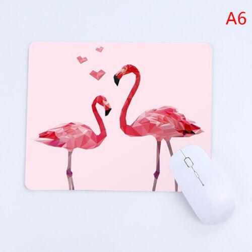 Mousepad pink flamingo desk mat surface waterproof anti-slip table mouse padWL