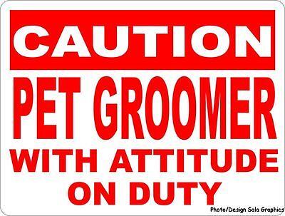 1.5/'X4/' PET GROOMING BANNER Outdoor Indoor Sign Groomer Vet Clippers Dogs Cats
