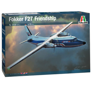 ITALERI Fokker F27-400 Friendship 1430 1:72 Plastic Model Kit