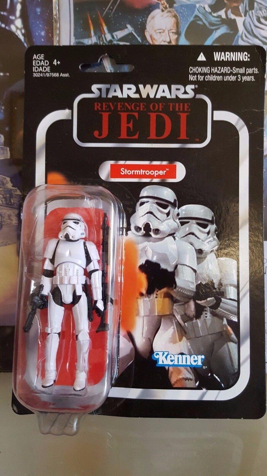 Star Wars Stormtrooper Figure Vintage Saga Collection NEW REVENGE of the Jedi
