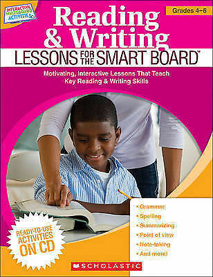 1 of 1 - Reading & Writing Lessons for the Smart Board, Grades 4-6  Teacher Resource
