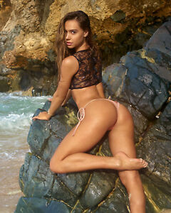 Image Is Loading Alexis Ren Sexy Sports Illustrated 2018 8x10 Photo