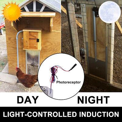 Electric Automatic Chicken Coop Guard Henhouse Auto Door Opener .