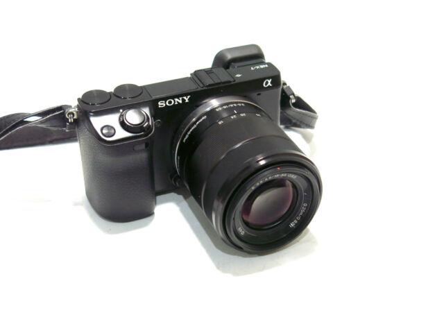 Sony Alpha NEX-7 24.3 MP Digital Camera w/18-55mm Lens  - Low 1,689 Shuttercount