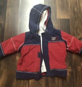 a25c4cc4c Baby Gap reversible jacket size 12-18 months blue red white