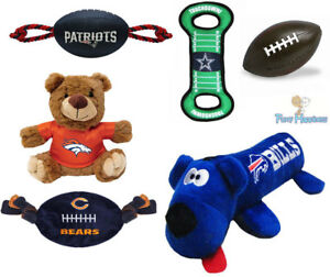 25f173112 NFL Pet Fan Gear Dog Toy Toys for Dog Dogs Puppy ALL TEAMS-PICK ...