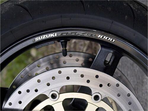 Stampato Decalcomania Quantità X10 Suzuki GSX-R1000 Cerchione Adesivi