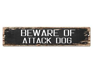 PP1353 Beware of PIG Plate Rustic Chic Sign Home Room Store Decor Gift