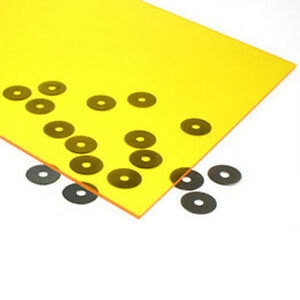 3mm-x-210mm-x-297mm-A4-Yellow-Tint-PERSPEX-Plastic-ACRYLIC-Splashback-Signs