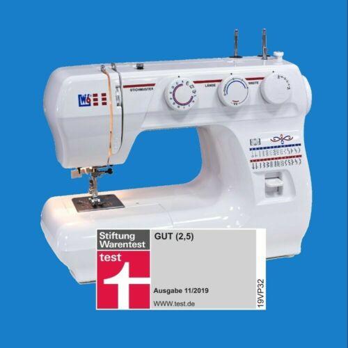 nuevo con embalaje original ✅ Máquina de coser w6 valor trabajo n 1235//61 haushaltsnähmaschine