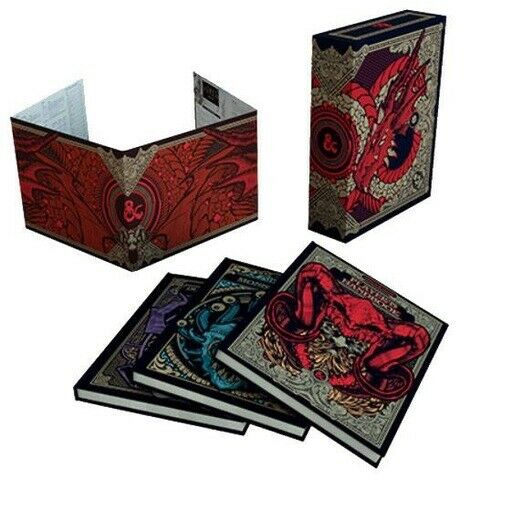 Dungeons and Dragons RPG  Core Rulebook Gift Set Limited Alternate Covers (Hobby