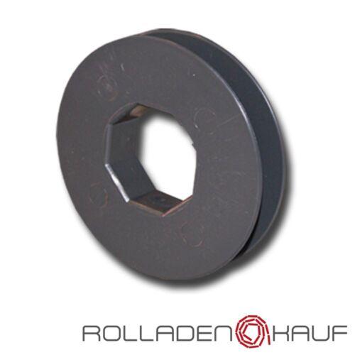 Cristal cinturón mini Ø 85 mm para mini cinturón banda sw40 8-Kant acero ola enrrollable