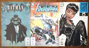 Batman-Chronicles-11-Paul-Pope-Deathstroke-23-2-Catwoman-1-2002-Darwyn-Cooke