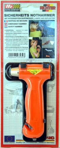 Auto KFZ nothammer seguridad martillo correa Schneider de HR//juez 770 Art.