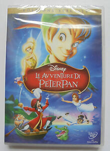 DVD-NUOVO-SIGILLATO-LE-AVVENTURE-DI-PETER-PAN-I-CLASSICI-WALT-DISNEY-vers-italia