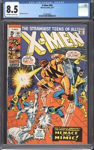 UNCANNY-X-MEN-69-1971-CGC-8-5-VF-Marvel-Comics-The-Mimic
