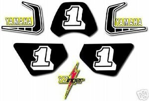 Details about YAMAHA 1981 PW50 Y-ZINGER COMPLETE DECAL GRAPHIC KIT