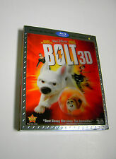 Disney's BOLT 3D Blu-ray DVD Digital Copy Combo Pack with Lenticular Slipcover