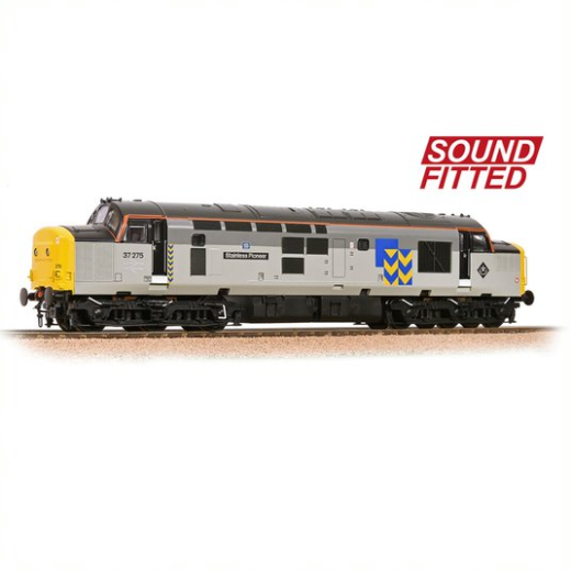 Bachuomon 32778RJSF classe 37 Stainless Pioneer BR Railfreight Metals DCC suono