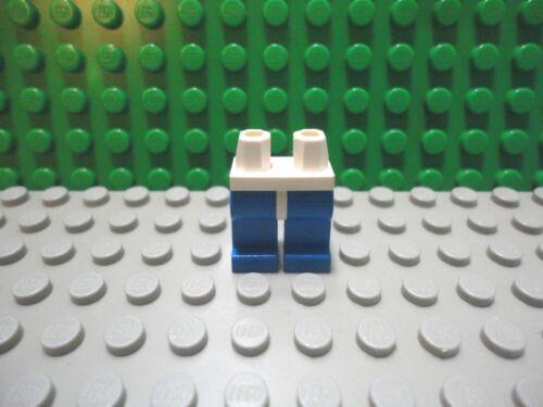 Lego mini figure 1 Blue legs with White waist