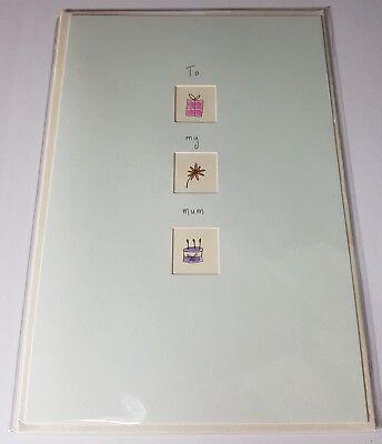 Happy Birthday Card Cute Special Mum Mummy Mam Mom Mother 13cm x 19cm 0165