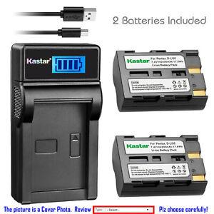 Kastar-D-Li50-Battery-Charger-for-Pentax-K10D-K10-K20-K20D-K10-K10D-K10D-GP