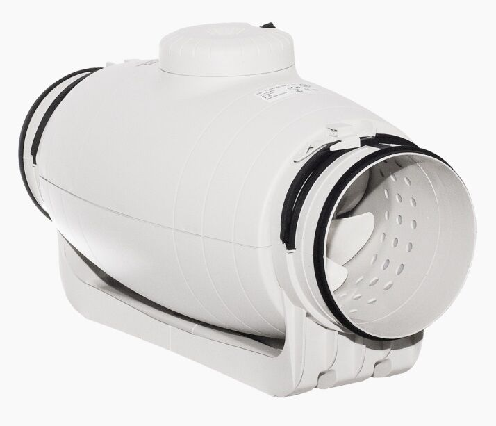 S&P Schallgedämmter Rohrventilator Lüfter TD 800/200 SILENT 3-Stufig bis 28 dB