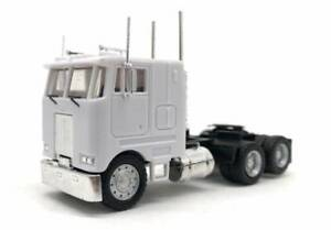 White-Peterbilt-Cabover-3-Axle-PROMOTEX-HERPA-1-87-Truck-HO-Scale-15246