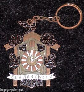 Porte clé coucou forêt noire souvenir Black Forest keyring NEUF  </span>