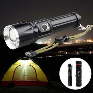 Skywolfeye-8000-LM-Zoomable-CREE-T6-LED-Flashlight-Torch-Rechargeable-18650-LE