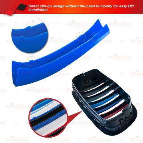 MPower Farbe 12 Lamellen Niere Kühlergrill ABDECKUNG für BMW E81 E82 E87 E88 LCI