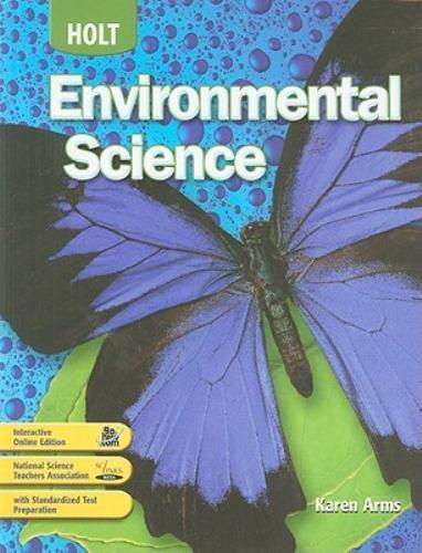 Holt Environmental Science Holt Environmental Science Student
