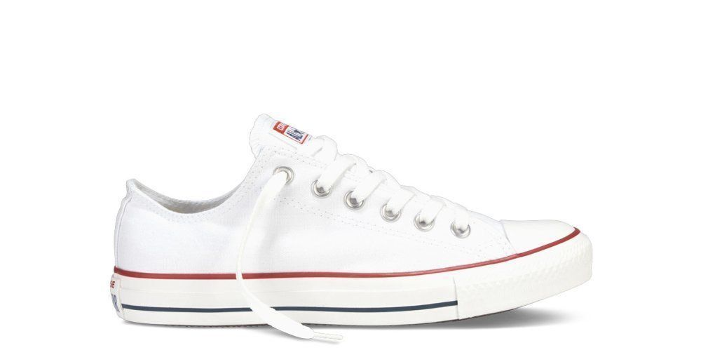 shoes Converse All Star Chuck Taylor White Low Optical White m7652c whtite