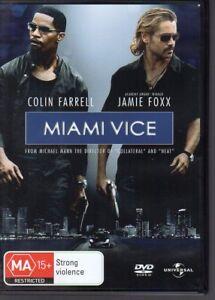MIAMI-VICE-DVD-R4-2006-Colin-Farrell-Jamie-Foxx-LIKE-NEW-FREE-POST