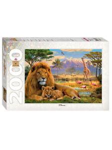 Puzzle Lions 2000 pcs