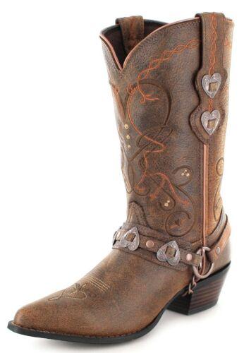 dames Marron pour Bottes pour Western Rd4155 l'aube femmes Bottes Bottes Durango vfRwqxv7