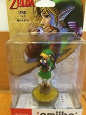 Amiibo The Legend of Zelda Link Ocarina of Time Nintendo 3DS