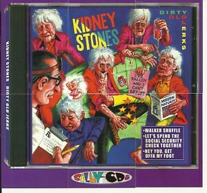 SILLY CDs - KIDNEY STONES - PARODY OF ROLLING STONES - 6 PIECE PUZZLE SET - RARE