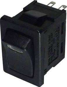SCI Wippschalter R13-66L-02 LED 12V//DC 250 V//AC 6 A 1 x Aus//Ein  rastend 1 St.