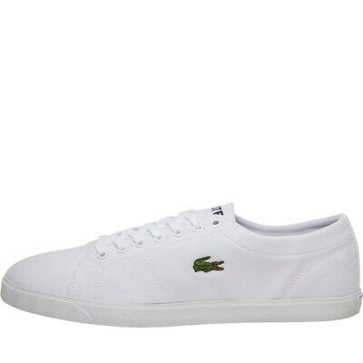 Lacoste Mens Riberac Canvas Trainers